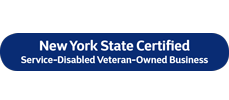 New York State Certified Service-Disabled Veteran-Owned Business